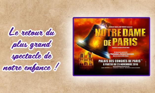 C'est Jeudi, c'est Musique : le grand retour de Notre Dame de Paris !