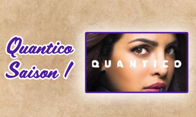 Quantico saison 1 – Avis