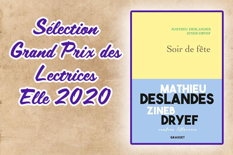 Sélection Grand Prix des lectrices Elle 2020