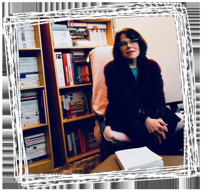 Mélanie Blondel, chroniqueuse littéraire et blogueuse